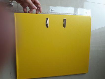 Binder Bantex Kuning