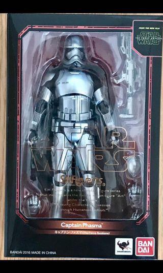 全新未開封 日版 BANDAI SHF Star Wars 星球大戰 Captain Plasma (The Force Awaken ver)