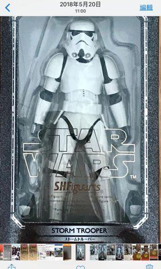 全新未開封 日版 BANDAI SHF Star Wars 星球大戰 Storm Trooper