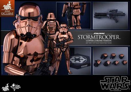 MMS 330 Hot Toys Star Wars: 1/6th scale Stormtrooper (Copper Chrome Version Asia Exclusive)