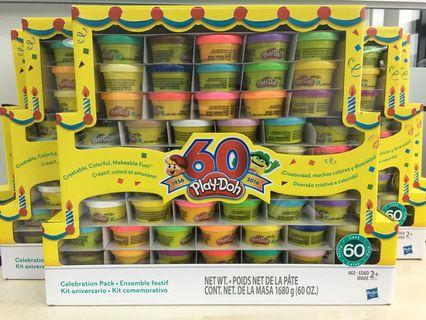 Play-Doh 60cans