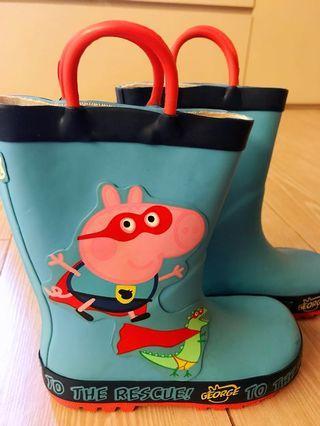 小童水鞋 Boys rain boots wellies