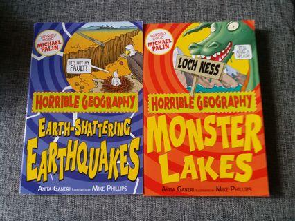 🚚 Horrible Geography books