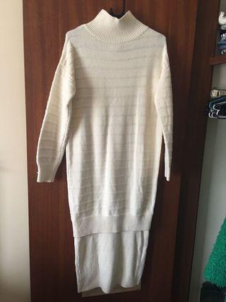 ASOS Turtle neck knit dress
