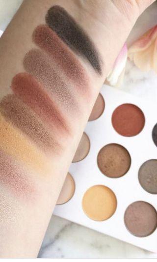 Shaaanxo eye shadow and lip palette