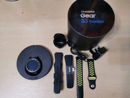 80%新 Samsung Gear S3 Frontier full set