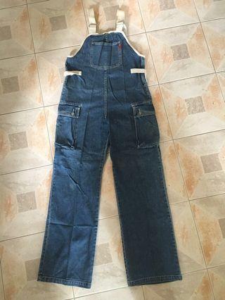 女裝牛仔工人褲 female jeans