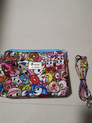 🚚 EUC Jujube Tokipops Be Set Large Pc only with long strap