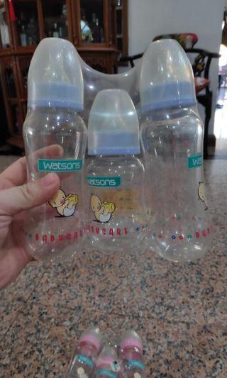 Baby bottles. Unused. Still in original plastic. Selling cheap.