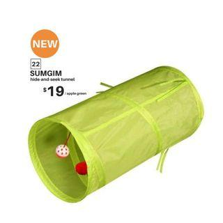 【BRAND NEW/INSTOCK】SUMGIM hide-and-seek tunnel 【Apple Green】