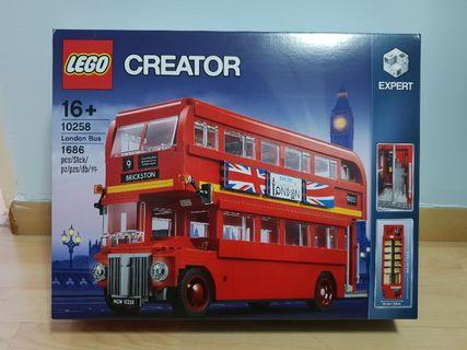 Lego 10258 London Bus Creator - Brand New MISB