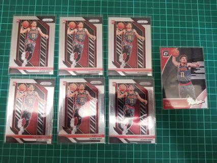 Prizm 2018 - 19 Trae Young lot