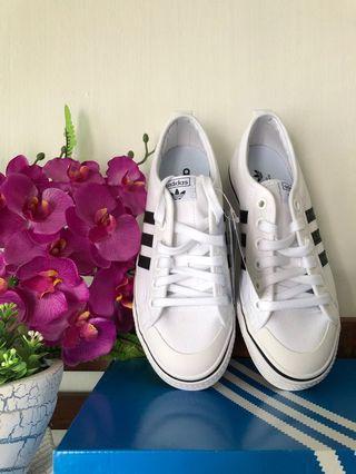 Womens Adidas Originals Nizza Trainers/Sneakers