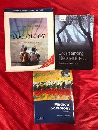 🚚 NUS Sociology Textbooks