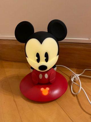 Disney 米奇老鼠 床頭燈
