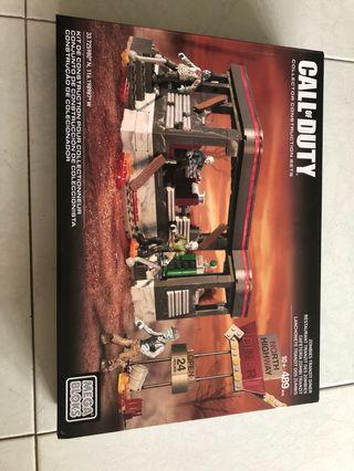 Call of duty collector construction sets mega bloks zombies tranzit diner 489 pieces