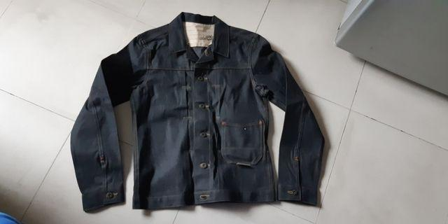 NEW genuine made in Japan World Workers denim jacket Size S