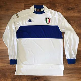 Authentic italy 1998 2000 away long sleeve kappa jersey jersi
