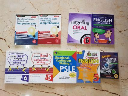 🚚 P6 / P5 English Assessment Books