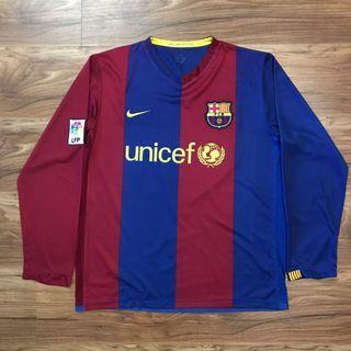 Original FC Barcelona jersey long sleeve XL
