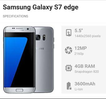 Samsung S7 Edge 4gb/32gb gold