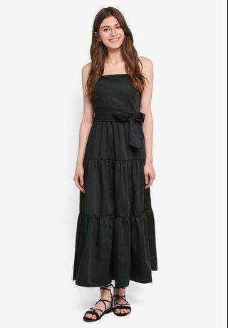 🚚 MDS Gathered dress in forest green