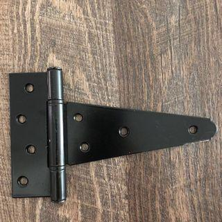 🚚 National Hardware Ornamental/ Revisible T Hinges
