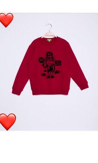 🚚 red monkey top