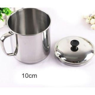 HIGH QUALITY STAINLESS STEEL Cup With Cover 10CM