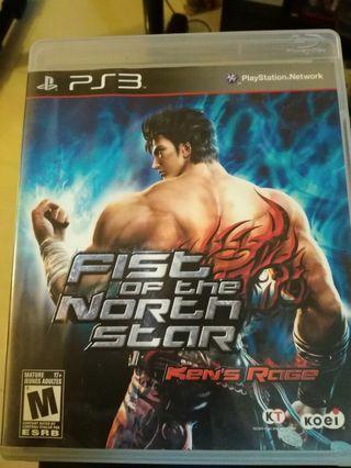 PS3 北斗之拳 英文版