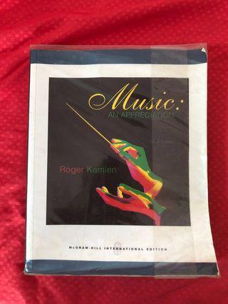 🚚 Music: An Appreciation, MEP textbook