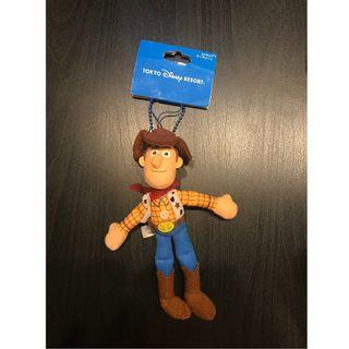 日本Toy Story玩具總動員鑰匙圈 (胡迪)