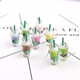 Starbucks inspired earrings