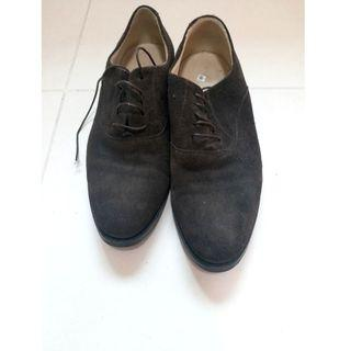 Scarosso Italian Brown leather shoes - Size 39