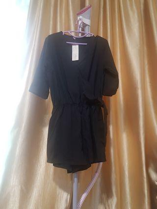 BN Black Romper jumpsuit