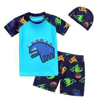 Boys Kids Dino Swimming Suit/Swimwear