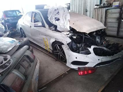 Mercedes E300 2.1 Hybrid AMG Scrap Wreck Repairable