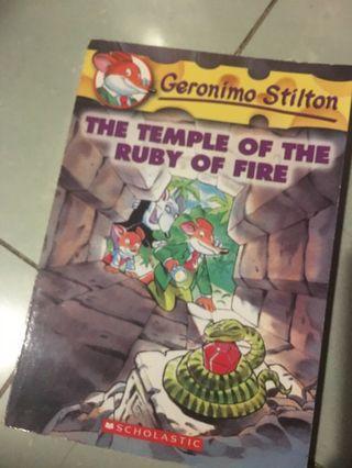 老鼠記者 the temple of the ruby of fire