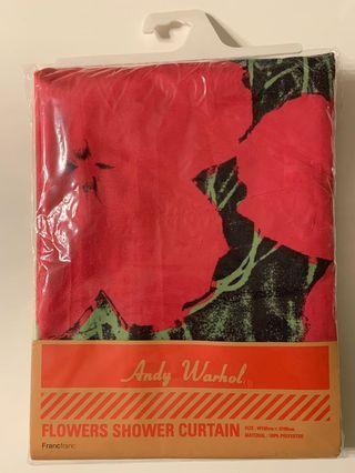 全新正版 Andy Warhol x Francfranc shower Curtain