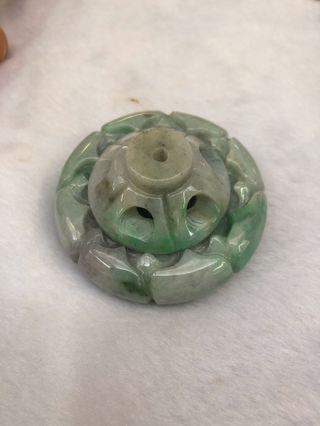 Jadeite 天然缅甸玉 香炉