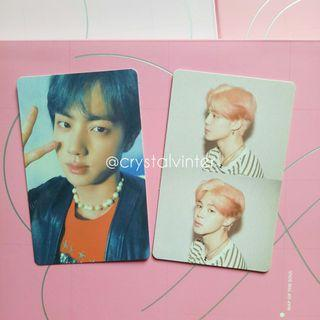 [OFFICIAL] BTS MAP OF THE SOUL PHOTOCARDS
