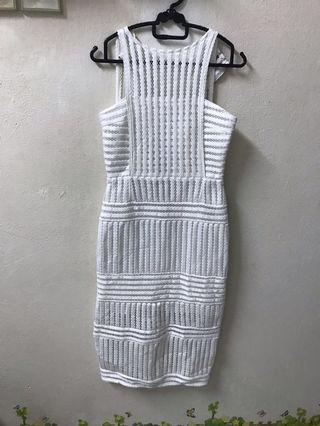 Megane white dress