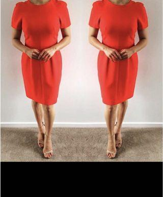 Red Saba dress size 10