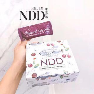 纯天然 法国Natural Daily Detox 排毒