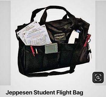 Jeppesen student flight/laptop bag.