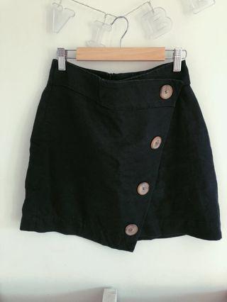 Country road linen skirt
