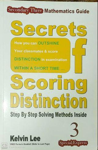 Secondary 3 Normal/Express Mathematics Guidebook