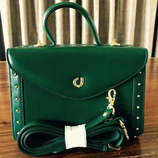 Vintage Leather Handbag (Unused)