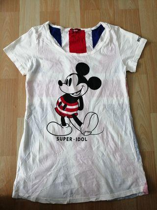 Ladies Mickey Mouse Super Idol Vintage For Sale