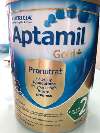 🚚 Aptamil Gold+ Stage 2 900g